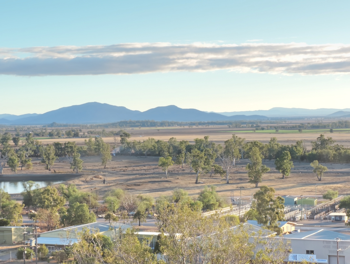 Gunnedah on the Liverpool Plains