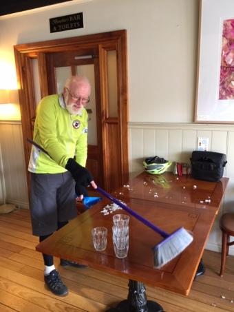 Tony sweeping up JPG