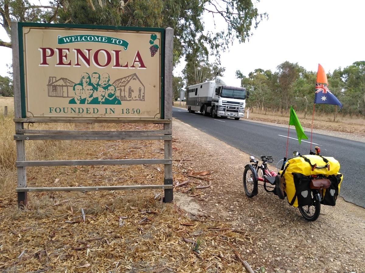 Penola, SA.  Drying out andplanning.
