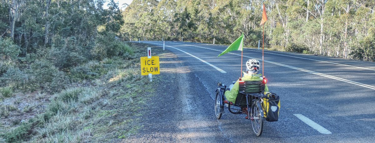 Tony's Tasmanian Cycling Blog