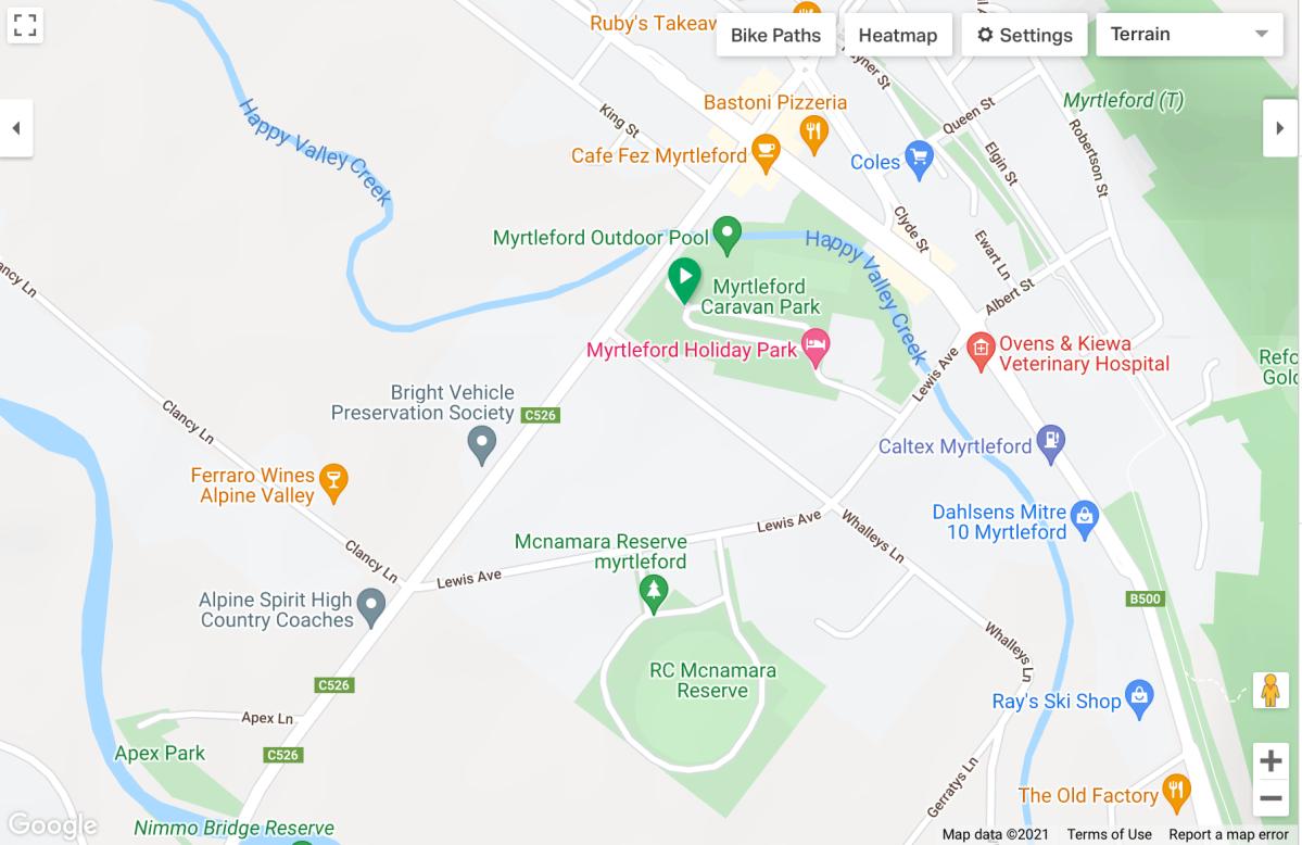 VRT – AroundMyrtleford